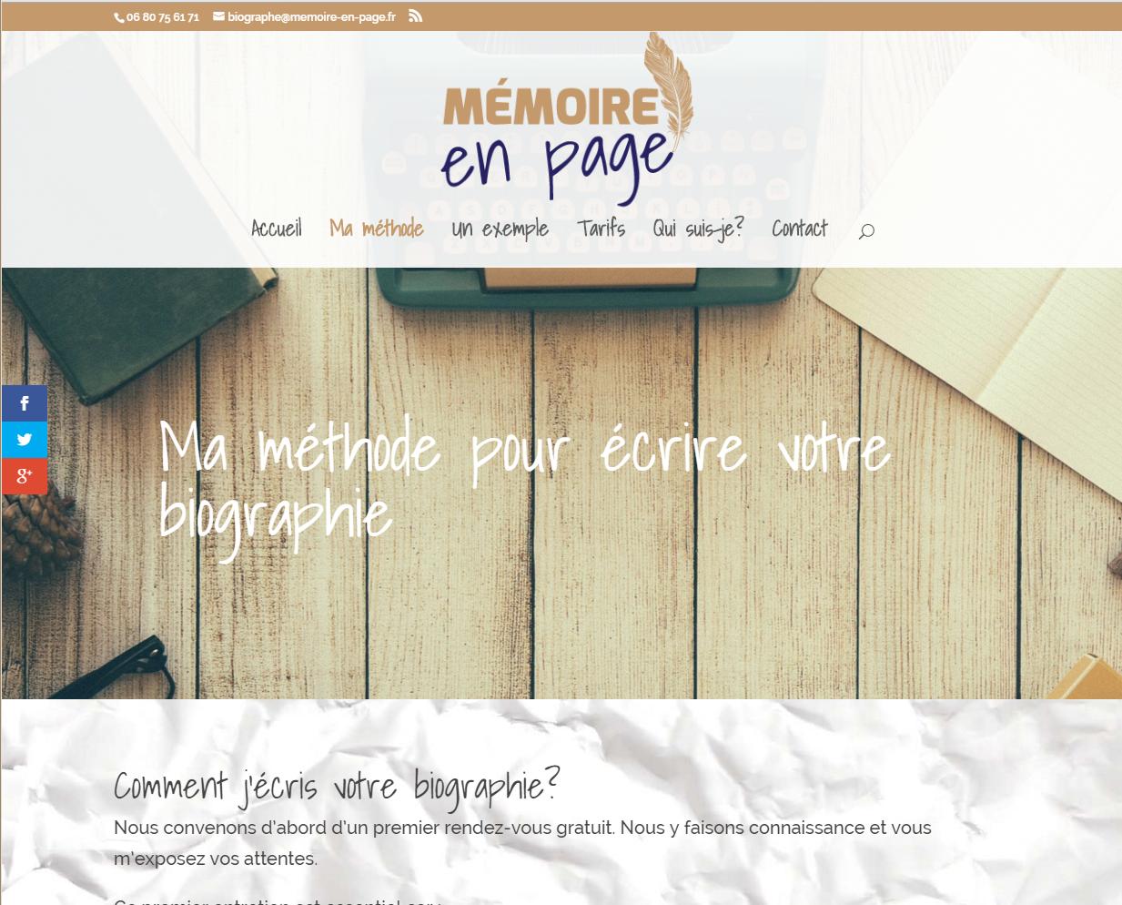 Création de l'identité visuelle (logo, couleurs, ...) et du site web vitrine